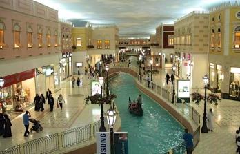 Villagio Mall, a bit like Las Vegas' Venitian
